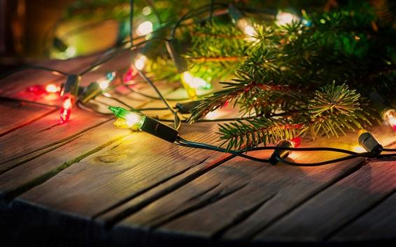 Обои Праздничные огни, декорация