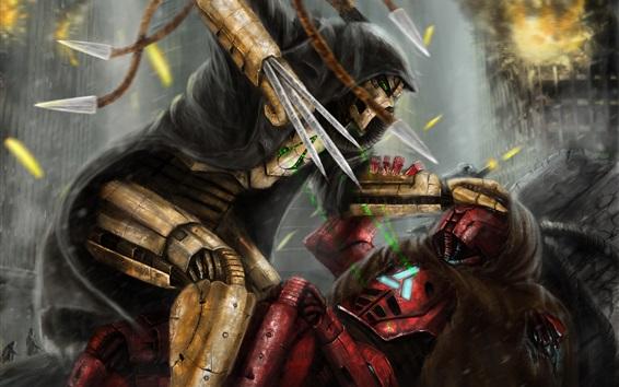 Wallpaper Mortal Kombat, hot games, art picture