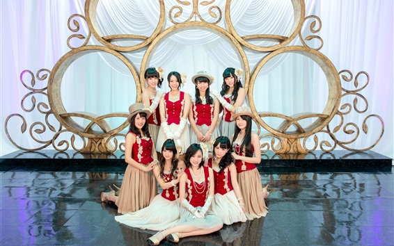 Wallpaper SKE48, Japanese girls 02
