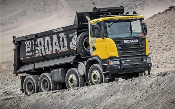 Papéis de Parede Camião basculante Scania G440