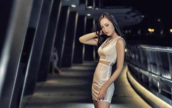 Papéis de Parede Slim asiática menina