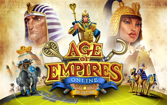 Wallpaper Age of Empires Online