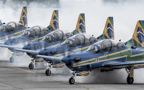Wallpaper Air show, aircraft, airport