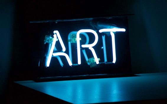 Wallpaper Art lighting, night, light