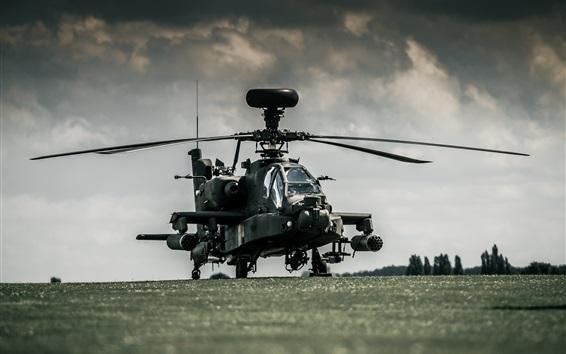 Fond d'écran Boeing AH-64 hélicoptères Apache