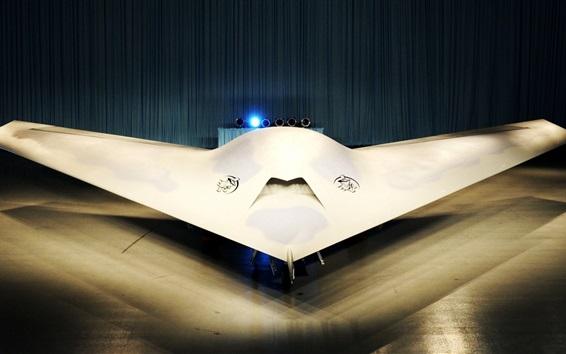 Wallpaper Boeing phantom ray aircraft