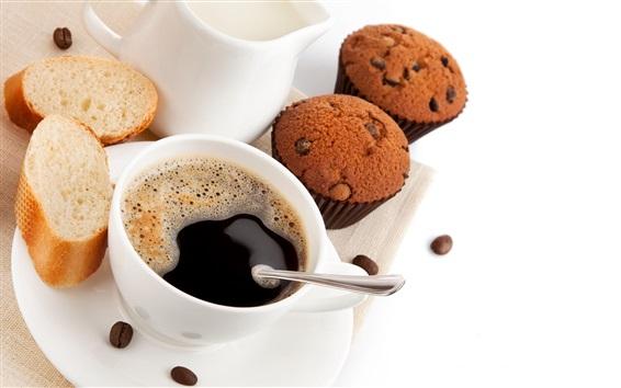 Wallpaper Bread, cupcakes, coffee