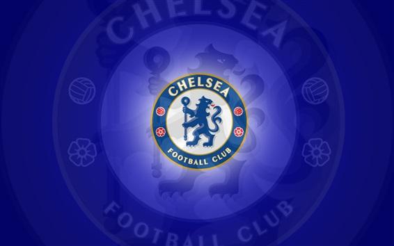 Fond d'écran Logo du club de football de Chelsea