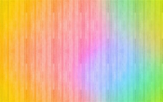 Fond d'écran Fond de bois coloré, conception abstraite