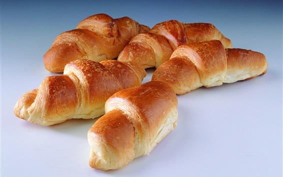 Fond d'écran Croissant, boulangerie