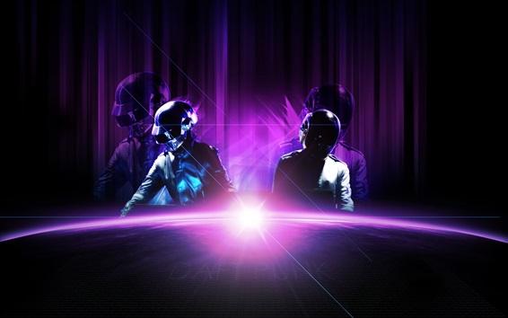 Wallpaper Daft Punk, music band