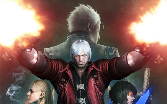 Обои Devil May Cry, игра HD