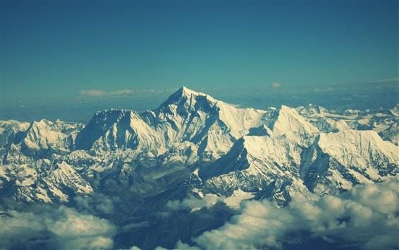 Обои Вид на гору Эверест