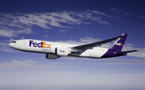 Wallpaper Fedex express aircraft