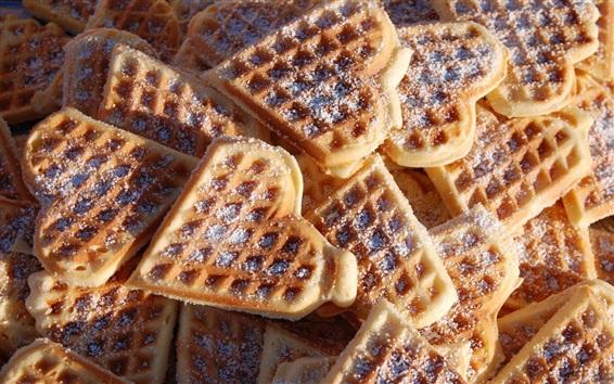 Обои Пища, любовь сердце печенье