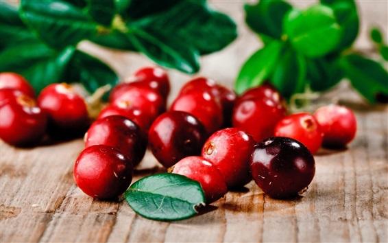 Fondos de pantalla Fruta, bayas rojas, hojas