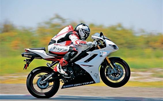 Fond d'écran Moto haute vitesse