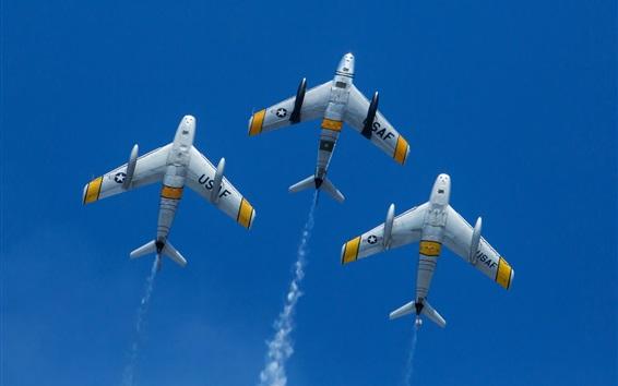 Обои Североамериканские самолеты F-86 Sabre