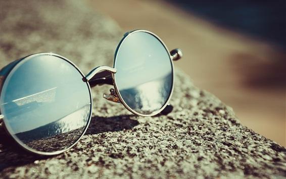 배경 화면 선글라스, 정물