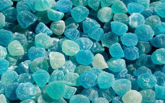Fond d'écran Mets sucrés, bonbons bleus