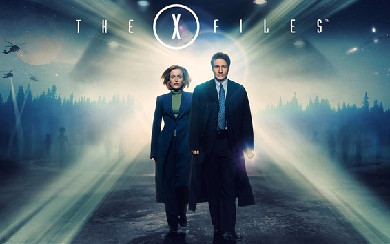 Wallpaper The X Files