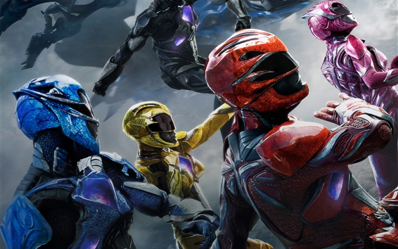 Fond d'écran Film 2017, Power Rangers