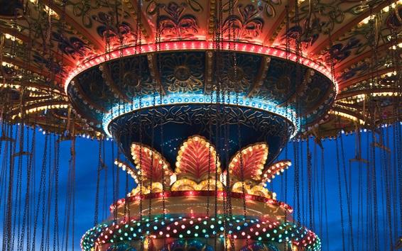 Fond d'écran Carrousel, lumières