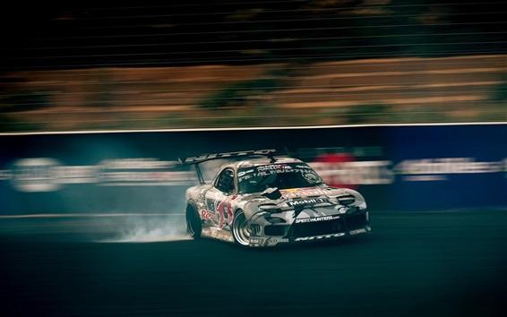 Wallpaper Cool race car, drift, speed