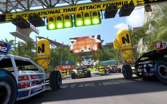 Wallpaper F1 race PC games