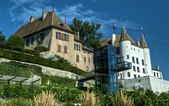 Fondos de pantalla Ginebra, Suiza, palacio