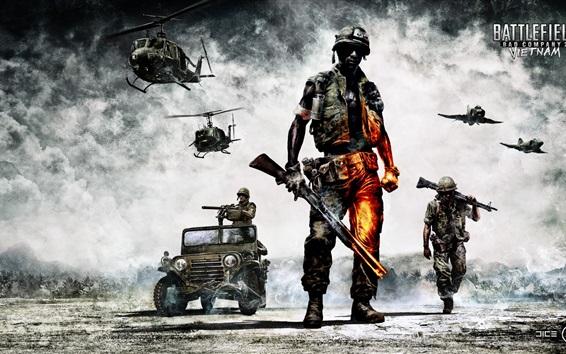 Wallpaper Hot games, Battlefield: Bad Company 2