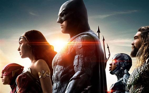 Papéis de Parede Liga da Justiça, heróis DC Comics