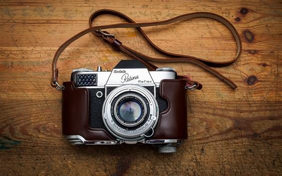 Wallpaper Kodak Retina Reflex, classic camera