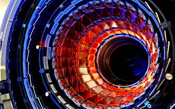 Papéis de Parede Colisão de hadrons grande, partícula, tecnologia