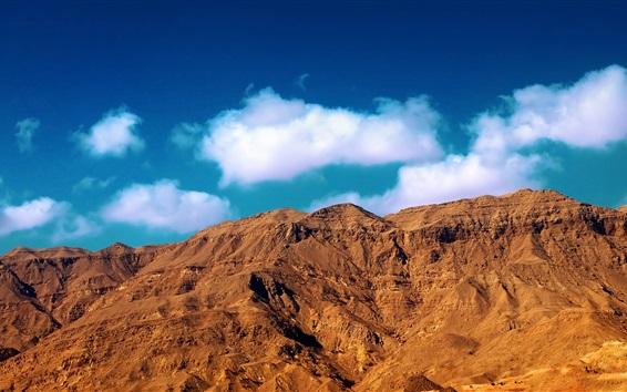 Fondos de pantalla Montañas, nubes, cielo