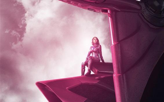 Wallpaper Naomi Scott, Power Rangers