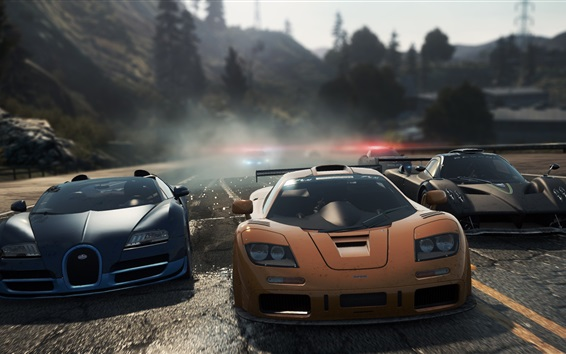 Fond d'écran Need for Speed, jeux, supercars