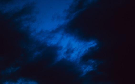 Wallpaper Night sky, clouds