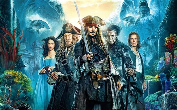 Wallpaper Pirates of the Caribbean: Dead Men Tell No Tales