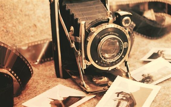 壁紙 レトロカメラ