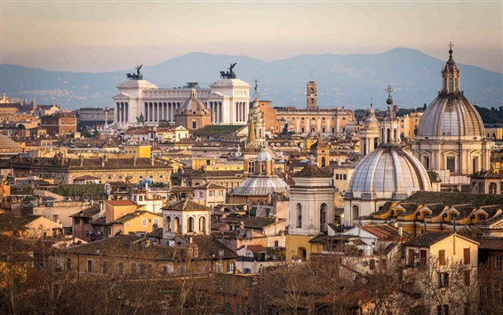 Wallpaper Rome, city, travel place