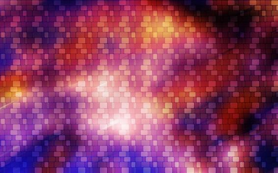 Papéis de Parede Textura tijolos, luz brilhar, parede abstrata