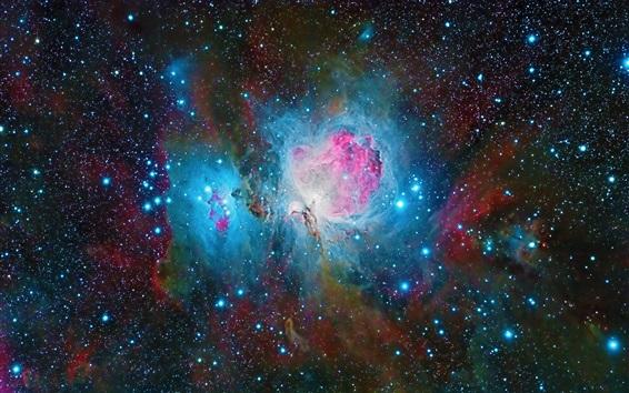 Обои Туманность Ориона, красивое пространство, звезды