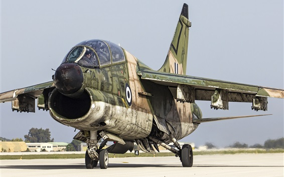 Wallpaper A-7 Corsair II attack aircraft