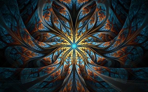 Fond d'écran Modèles abstraits, lumière