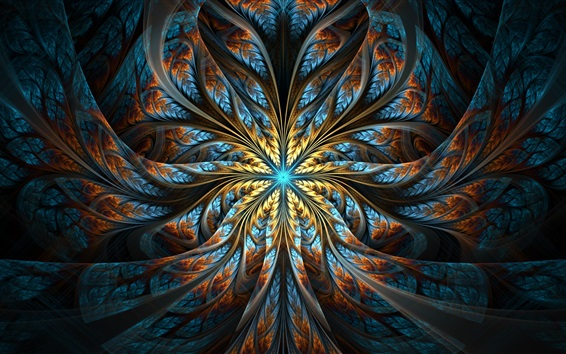 Papéis de Parede Padrões abstratos, luz