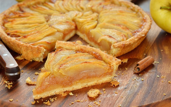 Wallpaper Apple pie