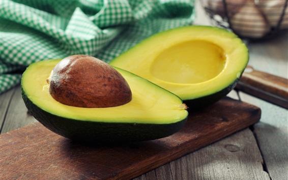 Wallpaper Avocado, fruit photography
