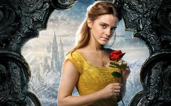 Fond d'écran Beauté et la bête 2017, Emma Watson