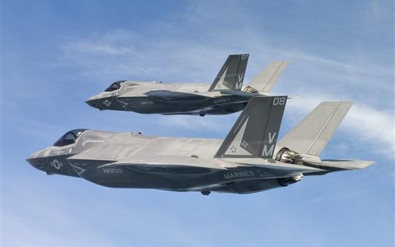Fondos de pantalla Bombarderos F-35B, Lightning II
